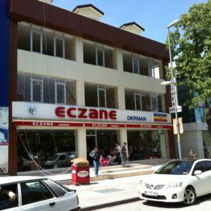 GÖLCÜK DERMAN ECZANESİ KOMPOZİT UYGULAMASI